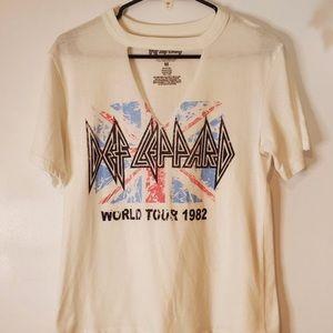 DEF LEPPARD World Tour 1982 SZ M